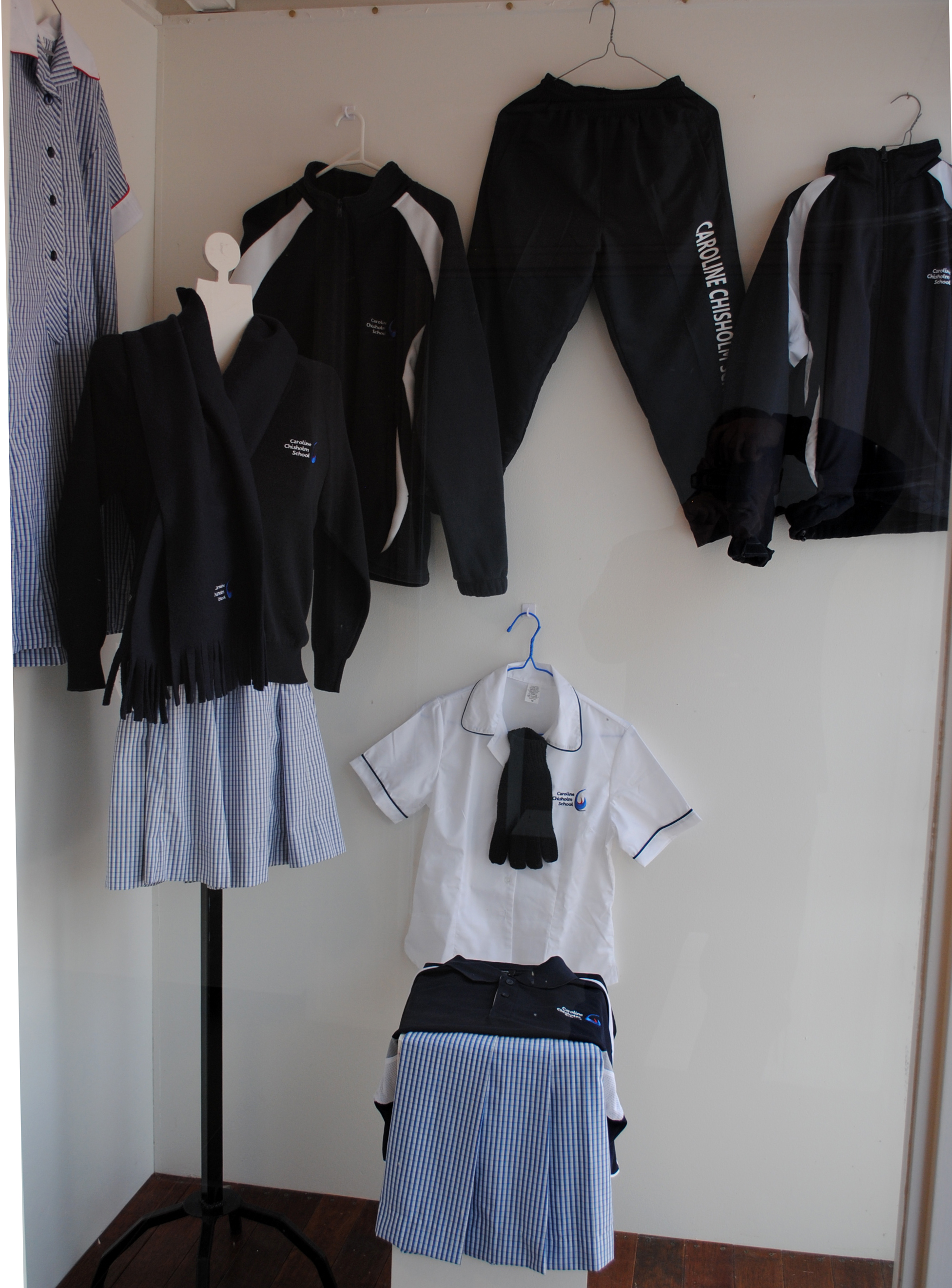 Uniforms for male and female students