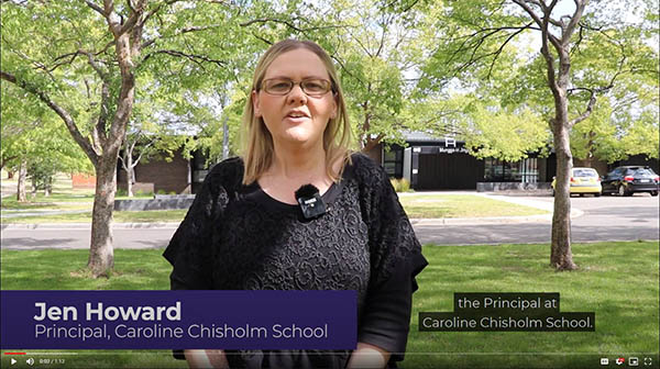 Caroline Chisholm School Virtual Tour